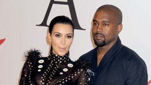 Kim Kardashian and Kanye West name their son Saint West
