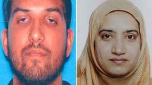Syed Rizwan Farook, 28, and Tashfeen Malik, 27 Credit: FBI