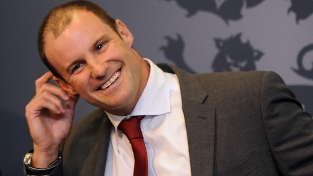 Andrew Strauss announced his retirement today