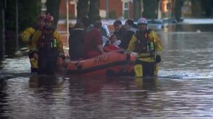 RNLI crews rescue residents in Cumbria