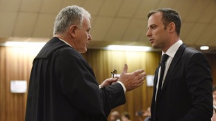 Pistorius and lawyer