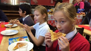 Children at Richmond Hill Primary School enjoy free breakfast
