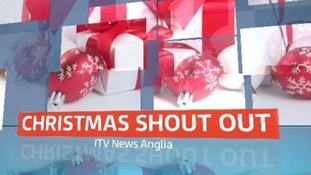 Your chance to say thank you to someone special this Christmas. Credit: ITV News Anglia