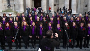 Military Wives Choir are hoping to claim the Christmas number one