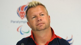 Nine-time Paralympic Games gold medallist Lee Pearson.