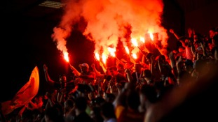 Fans 'bullied' into taking smoke grenades to matches
