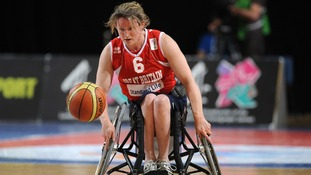 Great Britain's Clare Strange.
