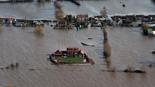 Somerset was hit by devastating floods in 2014.