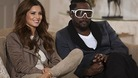 Pop stars Cheryl Cole and Will.i.am.