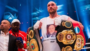 Tyson Fury stripped of IBF world title belt because of Klitschko rematch clause