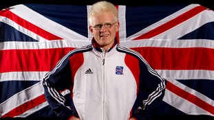 Great Britain goalball player Adam Knott.