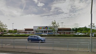 A Google maps screenshot of the Toys R Us