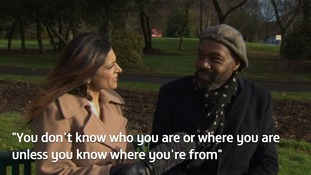 Video: Watch when ITV News Central's Sameena met Dudley's Sir Lenny Henry