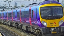 a first transpennine express train