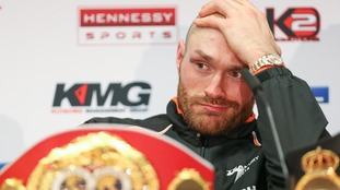 Tyson Fury became world heavyweight champion last month.