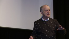 Sir Tony Robinson at St George's Theatre, Great Yarmouth.