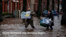 Flooded communities begin to recover their homes and businesses
