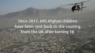 Afghans given asylum in uk as children fear being sent for Bureau for investigative journalism
