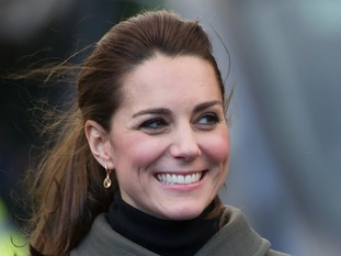 The Duchess of Cambridge will visit Warminster later today.