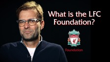 Jürgen Klopp has pledged his support for the LFC Foundation
