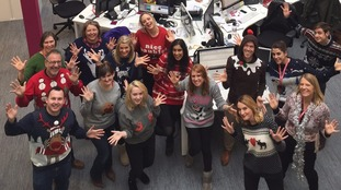 Merry Christmas Jumper Day from ITV West Country