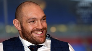 A complaint was made about Tyson Fury by a member of the public.