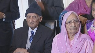 Karam and Kartari Chand have been married for 90 years