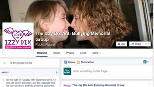 Izzy Dix Memorial Page on Facebook.
