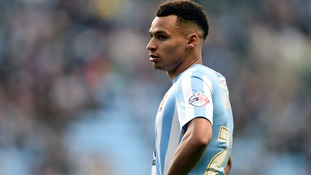 Coventry City's Jacob Murphy