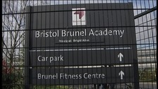 Brunel Academy sign