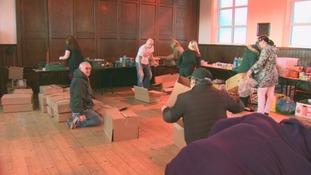 Flimby: one week after the floods