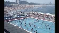 The busy pool in its heyday