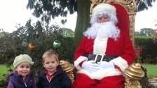 Meet Santa at the Winter Wonderfarm