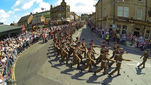 Personnel from 2nd Battalion Duke of Lancaster's Regiment