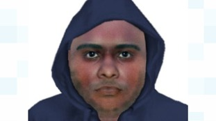 Computer generated image of wanted man