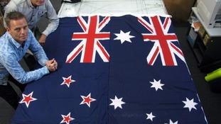 New Zealand Prime Minister John Key said the current flag is too similar to the Australian one.