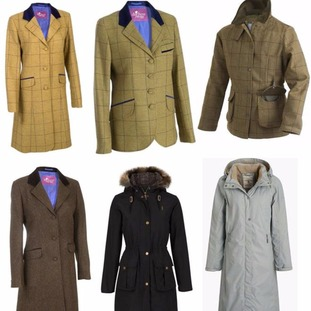 Pictures of six coats