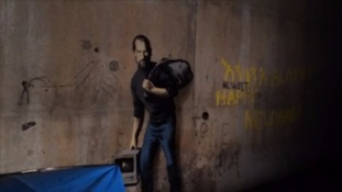 Steve Jobs artwork by Banksy