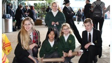 Pupils at the Arthur Terry School in Sutton Coldfield