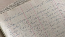 World War Two diary found in Exeter