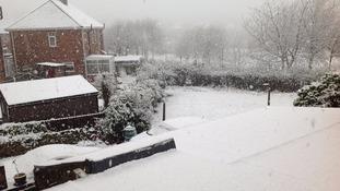 Snow in Heworth Gateshead