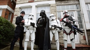 Star Wars artist honoured with plaque on east London house