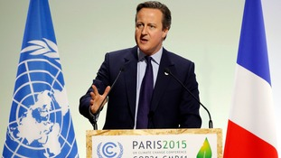 David Cameron addressed the summit's opening last month