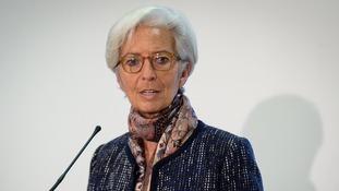 IMF chief: Climate change accord 'critical step forward'.