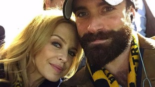 Kylie Minogue and her 'beau' Joshua Sasse