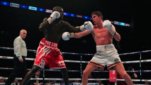 Luke Campbell was also knocked down for the first time in his professional career in the defeat