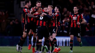 Second big scalp for Bournemouth in a week