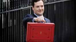 The red box that contains the 2012 budget