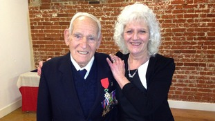 Suffolk war veteran awarded France's Legion of Honour