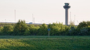 Stasnted's control tower